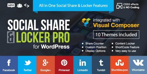 Social Share and Locker Pro