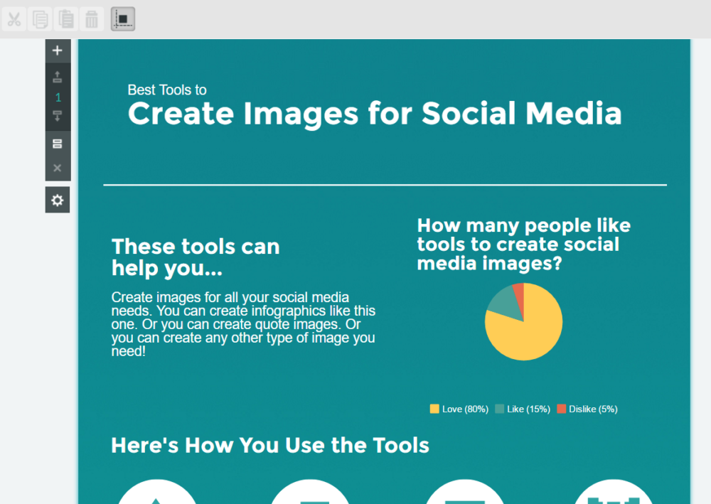 Infographic maker for social media
