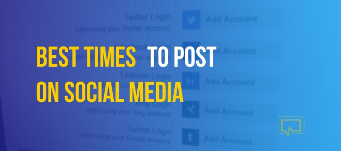 Data Says: Best Times to Post on Social Media – Twitter, Facebook, Instagram + More