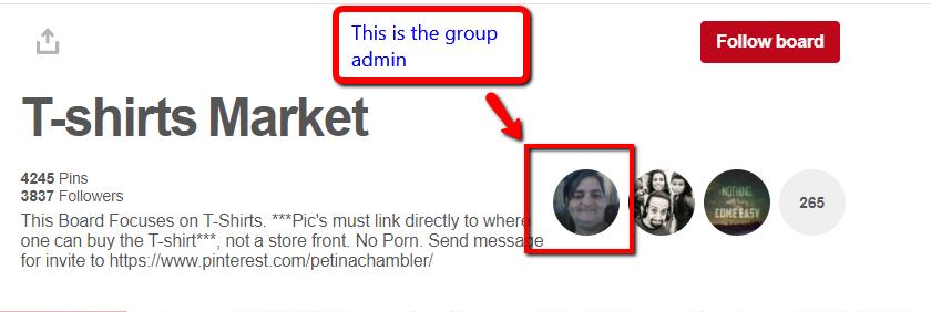 The board admin