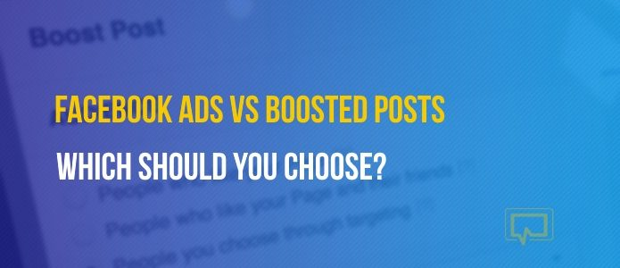 Facebook Ads vs boosted posts