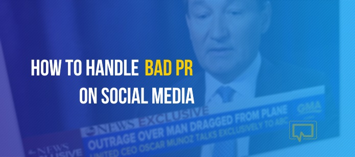 How to handle bad PR on social media