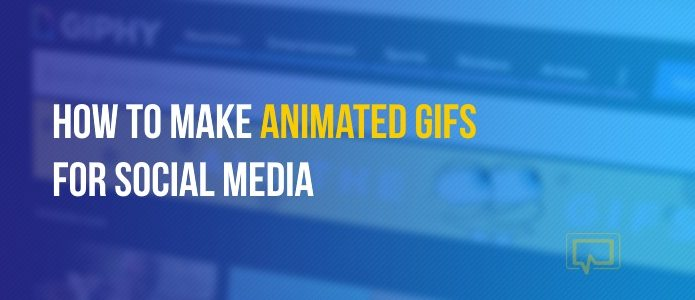 make animated GIFs for social media