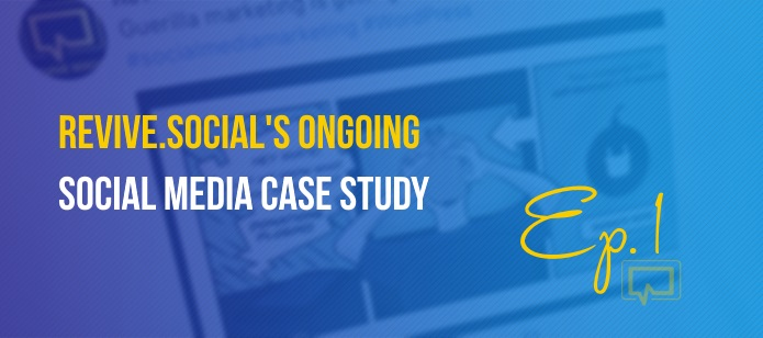 Ongoing Social Media Case Study 1