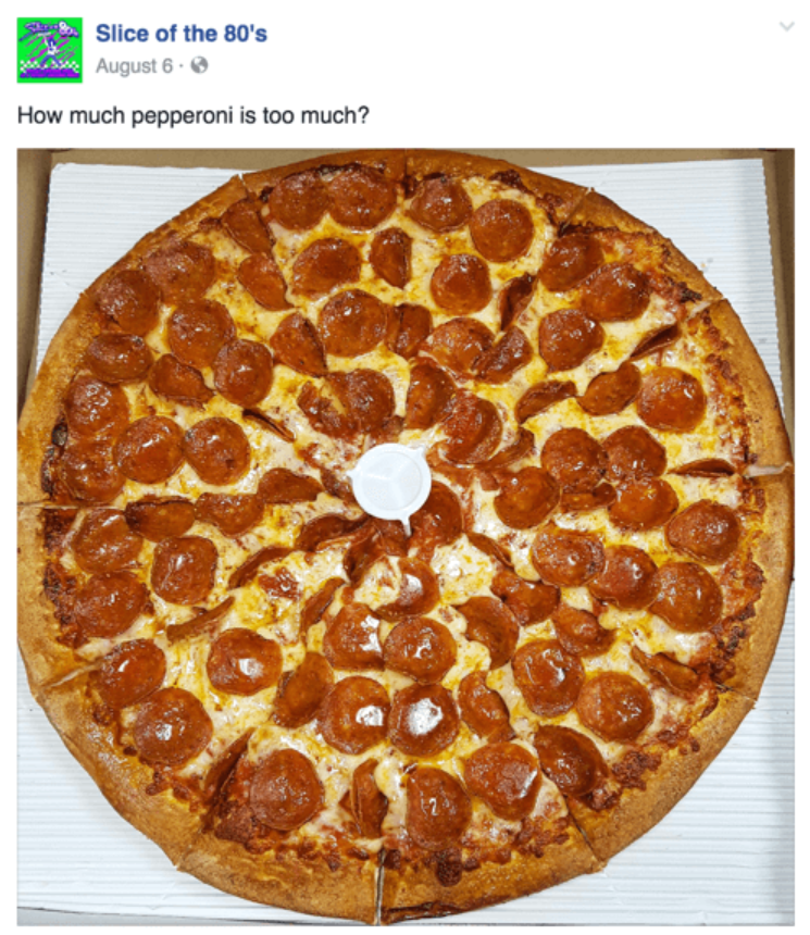 Pizza question