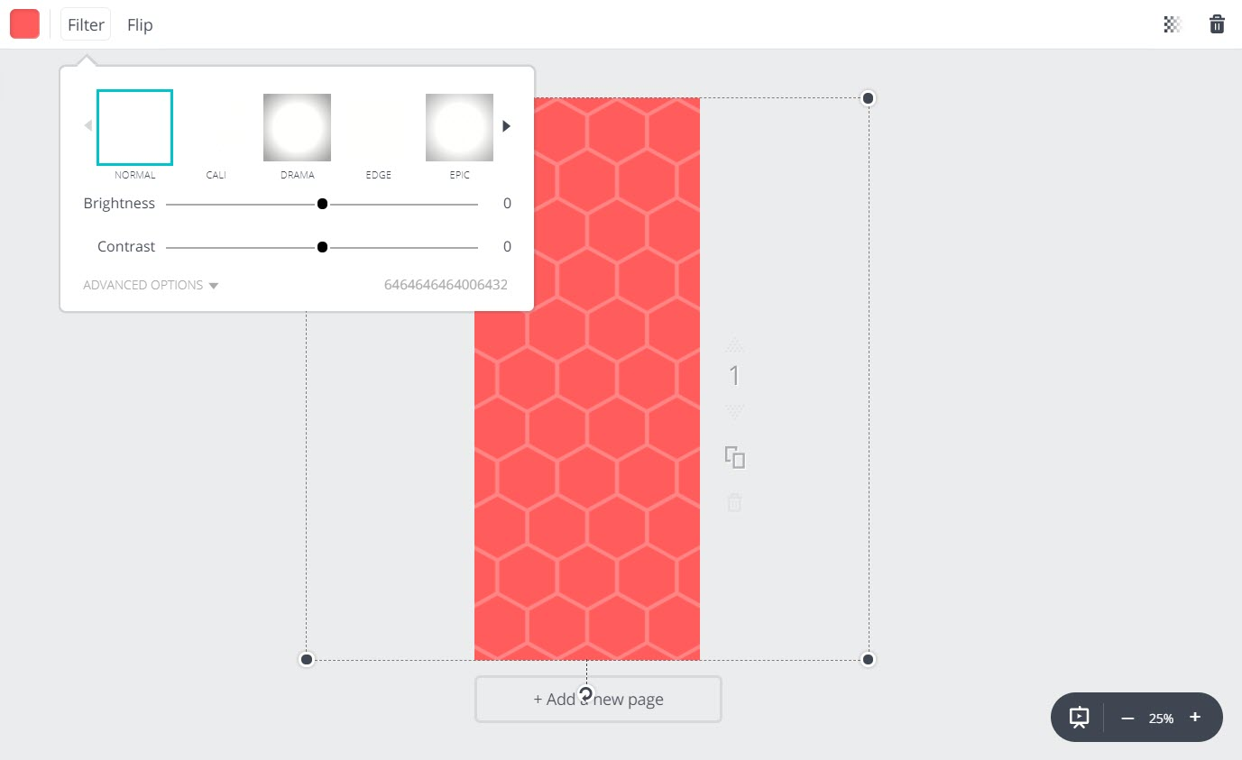 How to make infographics with Canva - Background 2