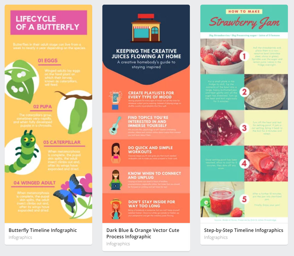 How to make infographics with canva - Graphic Elements