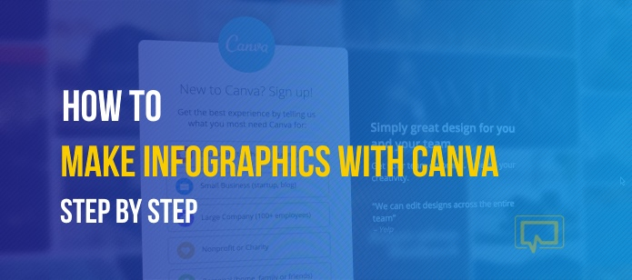 how to make infographics with Canva