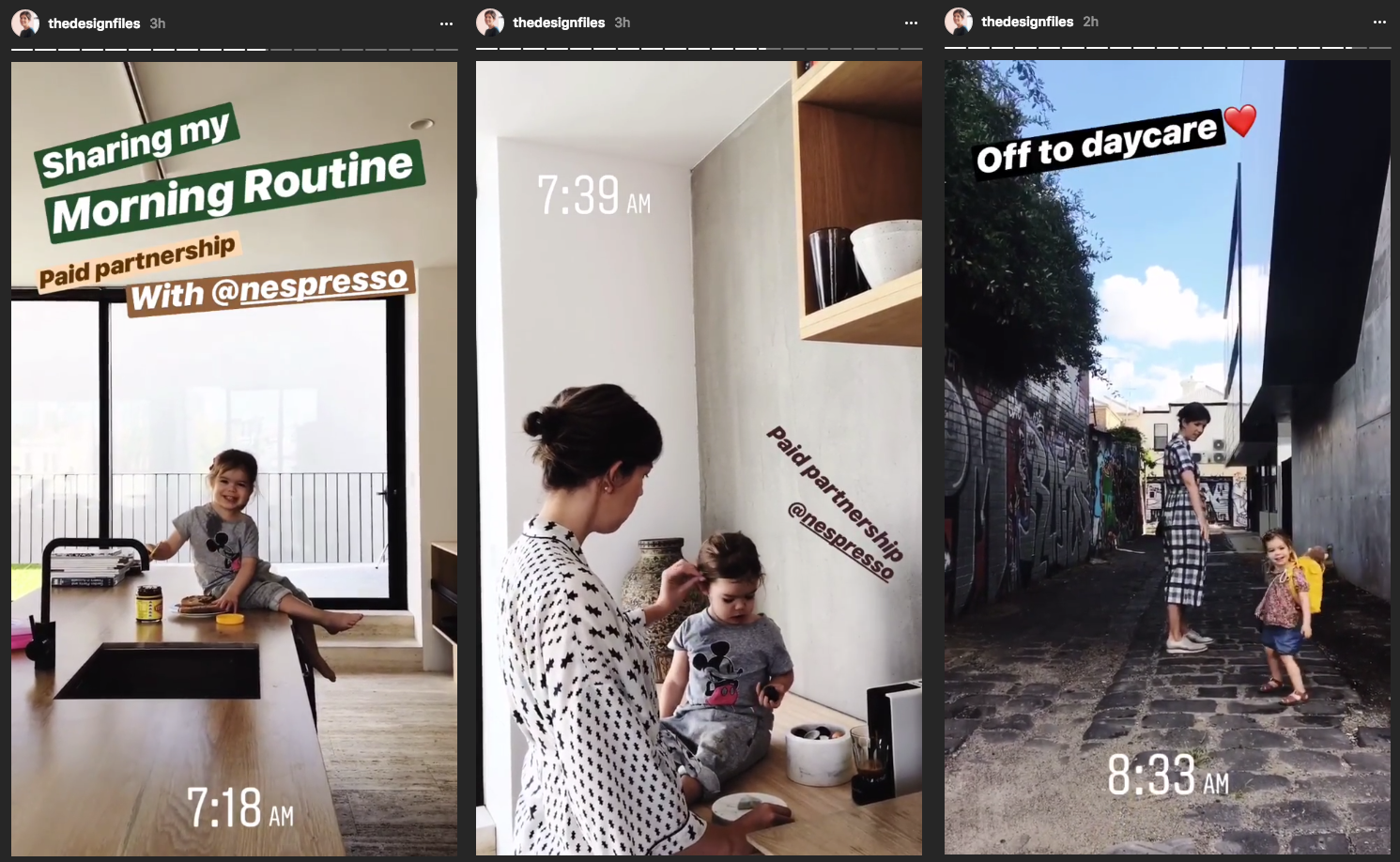 Instagram Marketing Strategy - The Design Files Instagram Stories
