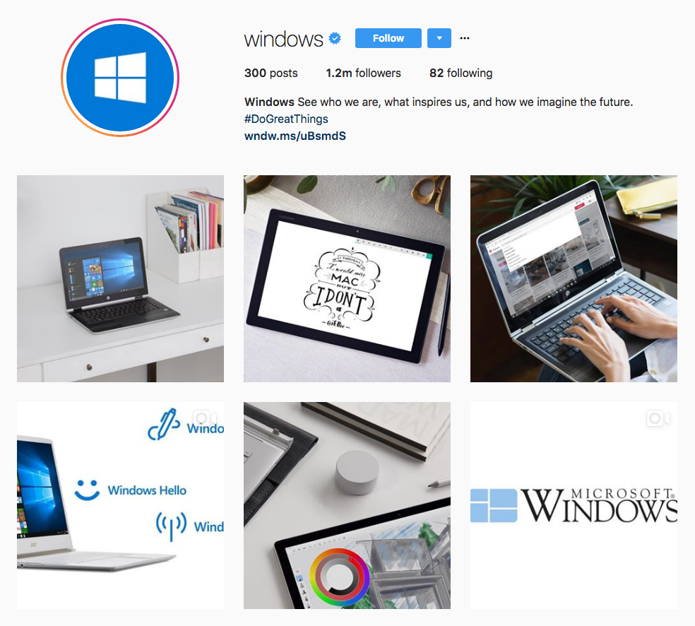 Instagram Marketing Strategy - Windows Instagram
