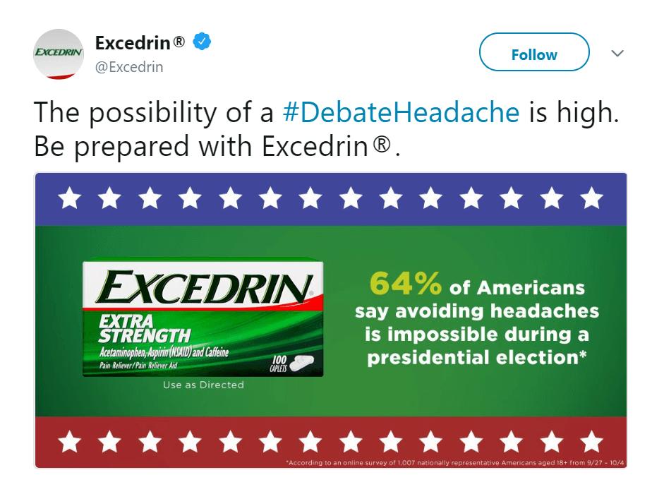 A tweet addressing a current event.