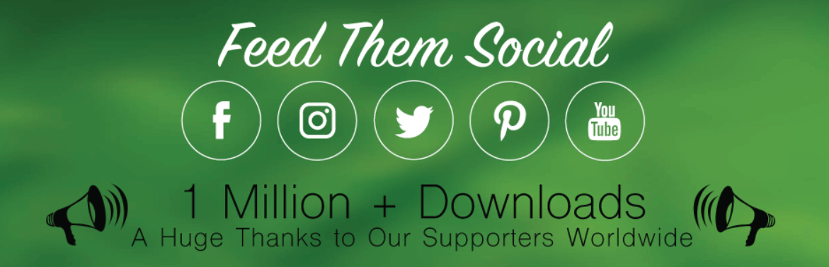 The Feed Them Social WordPress plugin.