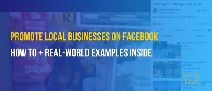 promote local businesses on Facebook