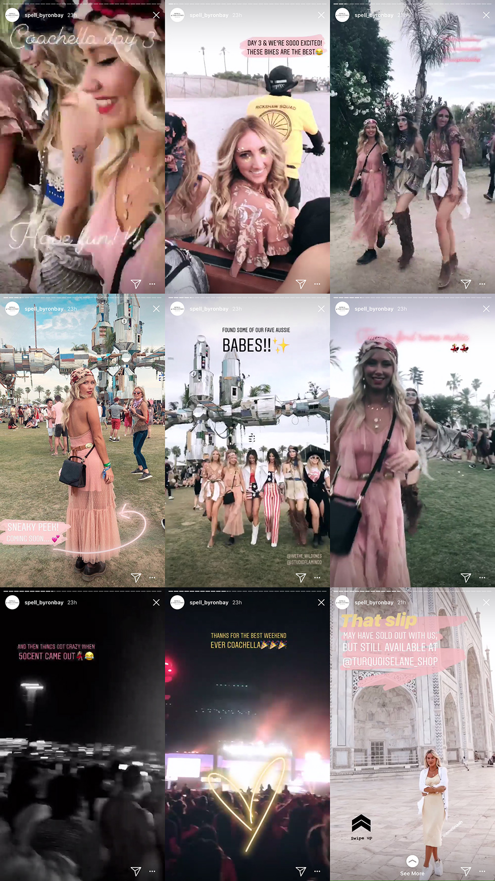 Spell & The Gypsy's whimsical Instagram Stories