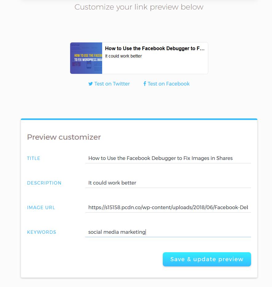 Social Media Case Study 4 MetaShort is a metadata tool for links