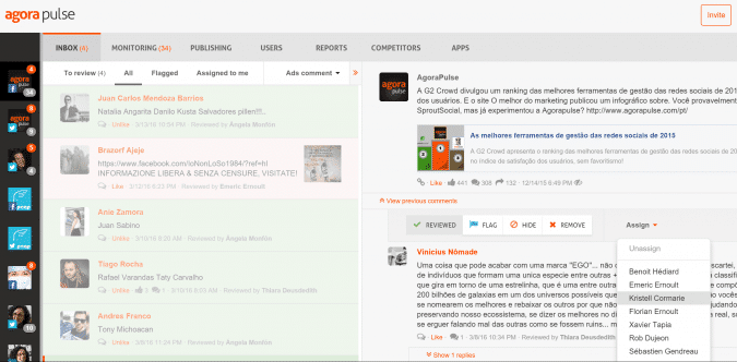 Meet Edgar Alternatives: AgoraPule dashboard.