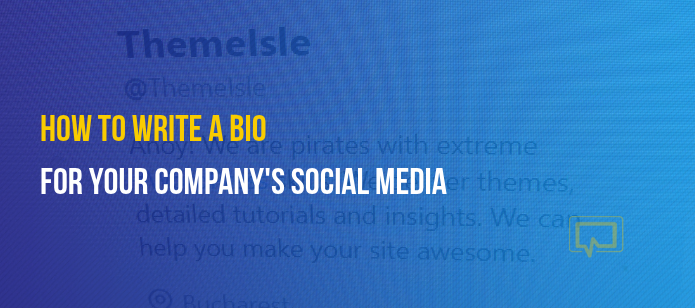 How to Write a Bio for Business Profiles on Social Media