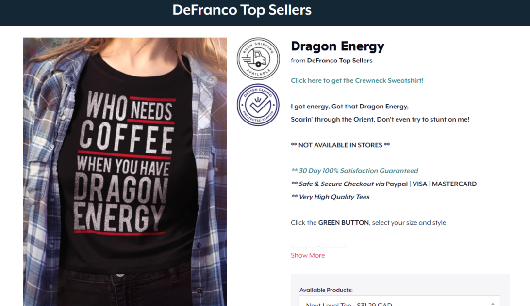 Phil Defranco Merch
