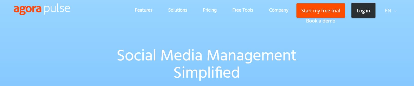 Social media monitoring tools: Agorapulse
