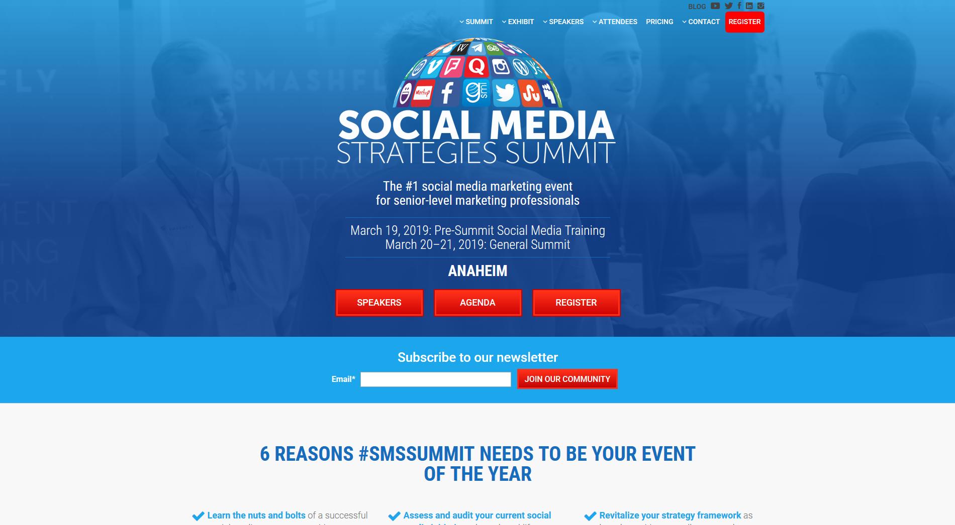 Social Media Strategies Summit will be in Anaheim