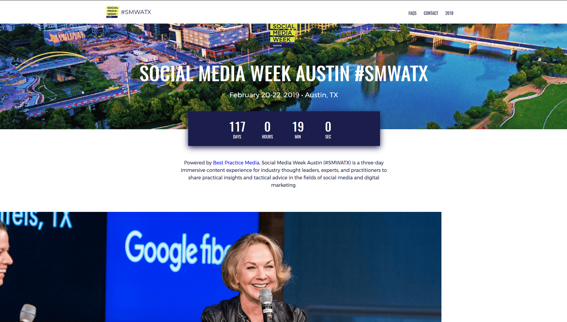 Social Media Week in Austin is one of the best social media conferences