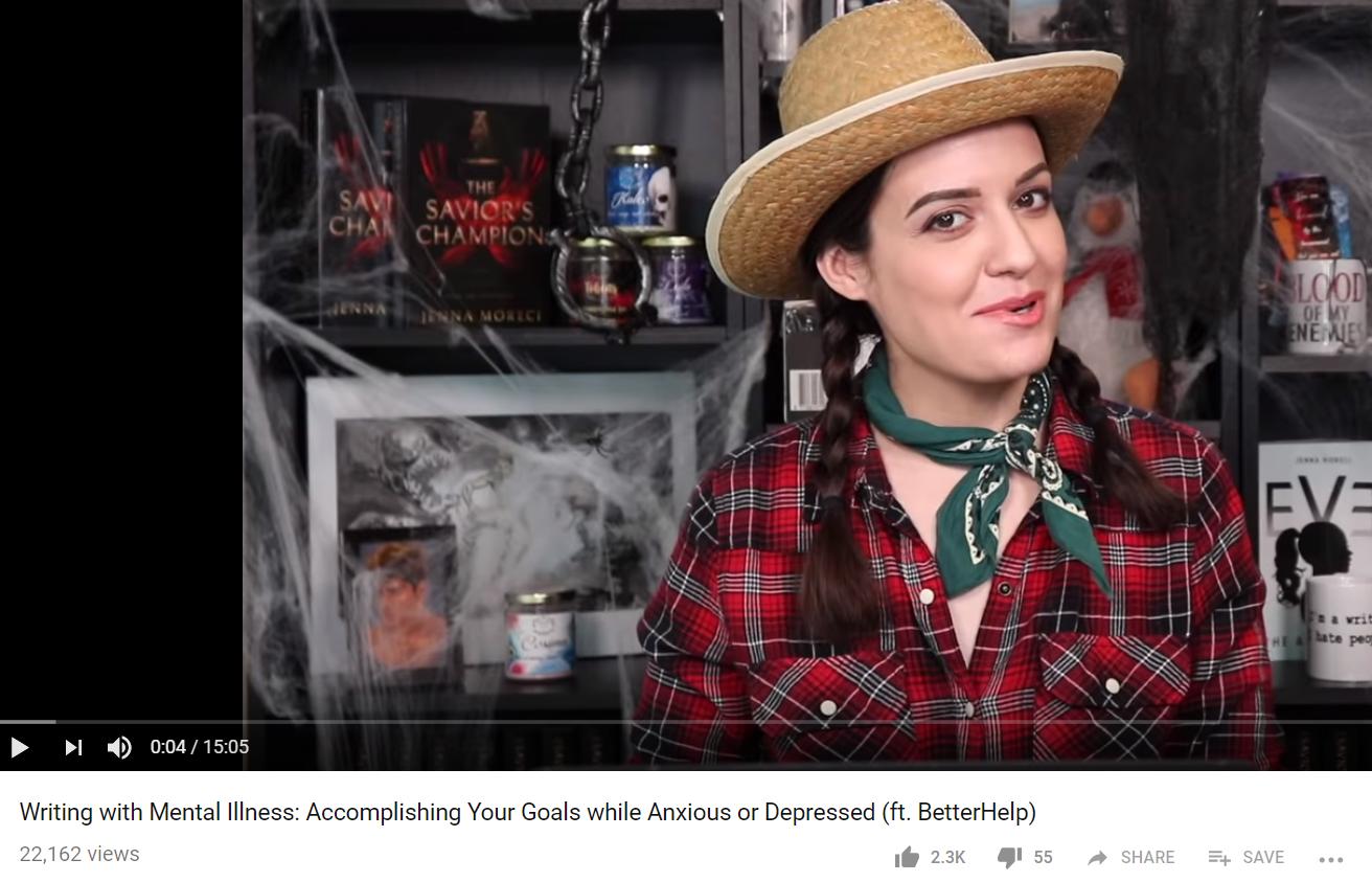 Jenna Moreci mental health video