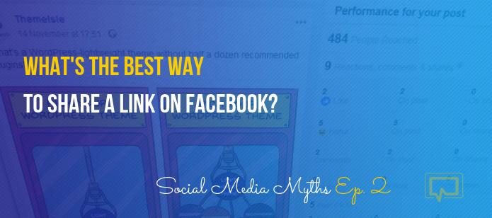 How to Share a Link on Facebook? #SocialMediaMyths