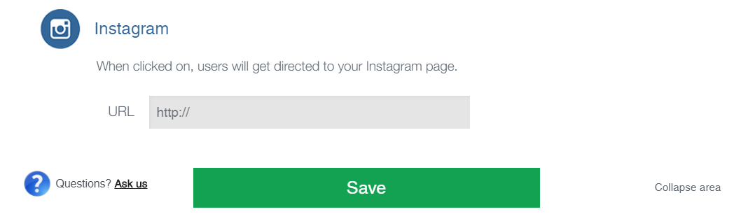 Connecting your Instagram account.